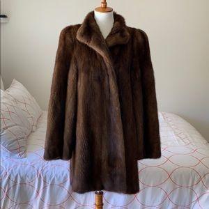 Jackets & Blazers - Natural Demi Buff Mink Jacket